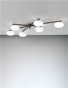 PHILLIPS : NY050113, ANGELO LELII, Six-armed ceiling light