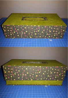 Cartonnage - Boîte à mouchoir v2