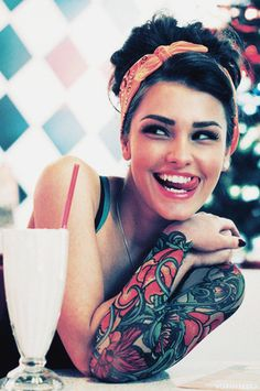 Sleeve Tattoos Tumblr Girls                                                                                                                                                                                 More