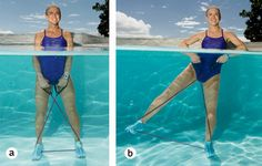 Cardio and Strength Training Water Workout For The Pool - The Hydro Belly Blaster