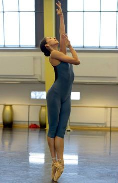 Elisa Carrillo Cabrera of Staatsballett Berlin  Photo: Bettina Stoess