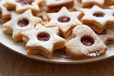 Špaldovo-mandľové linecké koláčiky - Powered by Annie's Cookies, Roll Cookies, Almond Cookies, Gluten Free Cookies, Sandwich Cookies, Linzer Cookies, Biscuits, Almond Bread, Bread Machine Recipes
