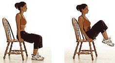 A No Fuss, 25 Minute Chair Workout! | Skinny Mom | Where Moms Get the Skinny on Healthy Living