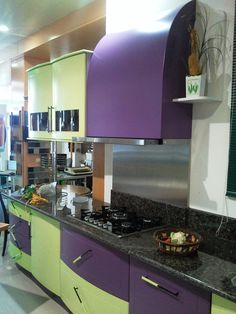 1000 images about kitchen color ideas on pinterest for Purple and green kitchen ideas