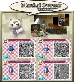 Marshal Sweater QR Code by YookeyYook