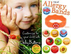 Allergy Alert Bracelet!!! What a fabulous idea especially for school!!!