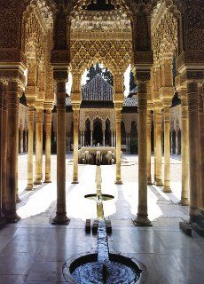 Alhambra and Generalife – Turmoil and Tranquility in the Garden of Paradise - The Garden Visitor Islamic Architecture, Beautiful Architecture, Barcelona, Travel Around The World, Around The Worlds, Alhambra Spain, Cordoba Spain, Voyage Europe, Spain And Portugal