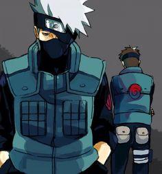 Kakashi Hatake, Yamato, Tenzo, Naruto