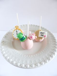Cakepops - Alice no País das Maravilhas