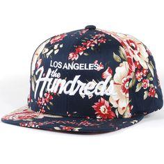 The Hundreds Team Snapback Hat (Black) $29.95