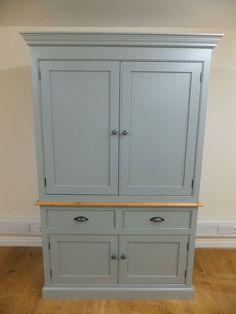 The Tennyson Handmade Bespoke Painted Kitchen Larder Cupboard