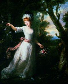 The Athenaeum - Portrait of Henrietta Laura Pulteney (Angelica Kauffmann - )