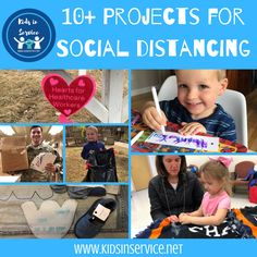 Service Projects You Can Do While Social Distancing - Kids in Service Service Projects For Kids, Community Service Projects, Service Ideas, Military Holidays, Mission Projects, Christmas Service, Service Learning, Relief Society, Business For Kids