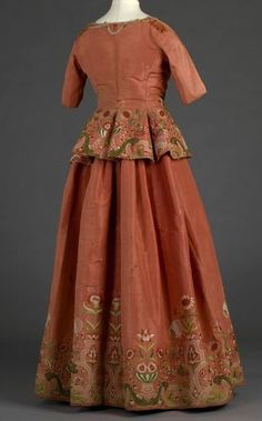 Embroiders Jacket and Petticoat c. 1740