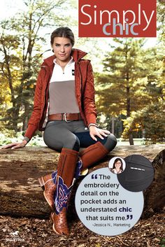 Simply Chic - SmartPak's fall look book.