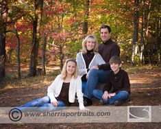 Fall Family Portaits at Red Top Mountain by Sherri's Portaits in Kennesaw, GA