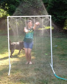 "Easy Summer Fun - DIY ""Kid Wash"" sprinkler. Quick Kits Available!"