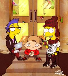 #simpsons #family_guy