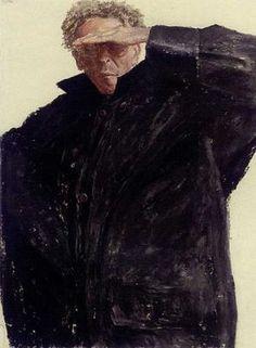 Avigdor Arikha,self-portrait