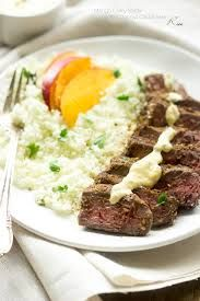 Wine Club Recipe of the Month: Flank Steak & Cauliflower Puree to pair up with the Corliss Cabernet.