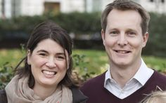 Adam and Megan Brownson are high earners - but struggle with the cost of   London life