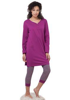 2-piece capri legging pj set by Dreams & Co.®