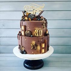 Birthday Cake Girls Easy Desserts 54 Ideas For 2019 Beautiful Birthday Cakes, Cool Birthday Cakes, Birthday Cake Girls, Beautiful Cakes, Amazing Cakes, Cake Design For Men, Cool Cake Designs, Buttercream Cake, Fondant Cakes