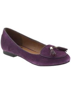 DV by Dolce Vita Delphi | Piperlime | Purple suede loafers-need these for fall!