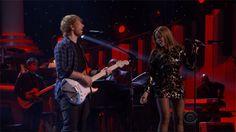 Beyoncé & Ed Sheeran Song In The Key Of Life Stevie Wonder Tribute 10.02.2015  ( 5 )