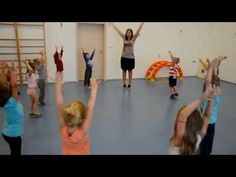 Ranní rozcvička - sportovní aktivity ve školce - YouTube Crafts For Kids, Relax, Classroom, Exercise, Reading, Children, Youtube, Books, Sports