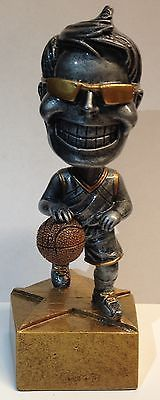 A male basketball #bobble head #trophy + free #engraving + free p&p on additions,  View more on the LINK: http://www.zeppy.io/product/gb/2/221124374878/