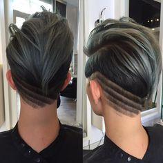 #hairbrained #studioh2osalon #modernsalon #AmericanSalon #slchairstylist #barbering #hairdesign