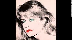 This Andy Warhol portrait of actress Farrah Fawcett is at Fawcett's alma mater, the University of Texas at Austin. Fawcett bequeathed her ar...