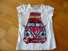 Dívky | Velikost 116 | Bílé tričko s obrázkem | Bazar Šmudlíček