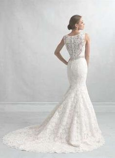 VN372 – Vestido de Noiva Sereia em Renda – Lindo e Famoso na Internet