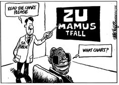 'Can't Zuma read the writing on the wall?', asks Mark Wiggett in the Herald Port Elizabeth