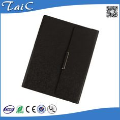 Check out this product on Alibaba.com APP Customised PU leather magnetic clasp hardcover with your company logo spiral bound notebook with wallet/Card Holder