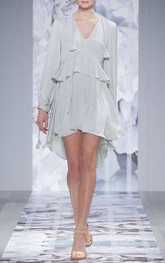 Claudia Frill Tassel Mini Dress by WE ARE KINDRED for Preorder on Moda Operandi