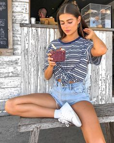 Salty hair, sandy feet and sun kisses ✨ Summer fashion.