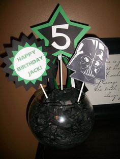 Star Wars Birthday Centerpieces by kerryadkins on Etsy