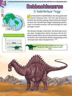 Buku Pintar Ensiklopedia Dinosaurus dan Binatang Purba Katabaca.com Dinosaur Theme Preschool, Animal Facts, Jurassic World, Ipa, Studying, Knowledge, Horse, Parenting, Science