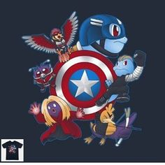 """Comment if you stand with Team Cap! ;) """"Team Squirgers"""" by @batang9tees ------------------------------------------------ available at page 14 of our store worldwide shipping  The best t-shirts sweatshirts tanks and hoodies you can find on the web!  . . . #Geek #nerd #nerdshirt #geekshirt #nerdtshirt #geektshirt #nerdtee #geektee #tee #geeklife #nerdlife #tshirt #gaminglife #gamerlife #nerdy #geeky #gamin #nintendo #pokemoncenter #pokedex #pokemonmaster #pokemonart #pokeball #pocketmonsters…"""