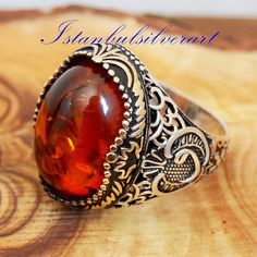 Jewelry Sites, Jewelry Art, Gold Jewellery, Silver Rings Handmade, Sterling Silver Rings, Silver Ring Designs, Unusual Rings, Bronze Ring, Turkish Jewelry