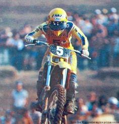 Akira watanabe Suzuki 125 GP Espana Mongay 1981
