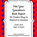 This list of 30 creative alternatives to the traditional book report emphasizes multiple intelligences and student imagination. Ive included sugge...