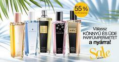 Válassz egy könnyű és üde parfümpermetet?