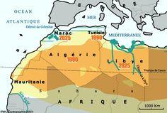 Les pays du Maghreb  Activités en ligne