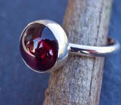 a garnet ring i'd actually wear...it's my birthstone, after all