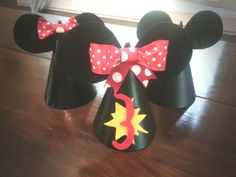 Birthday hats minnie mouse mickey mouse-3 rd birthday party