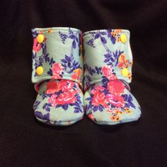 These booties are absolutely adorable! A must have for every little girl!